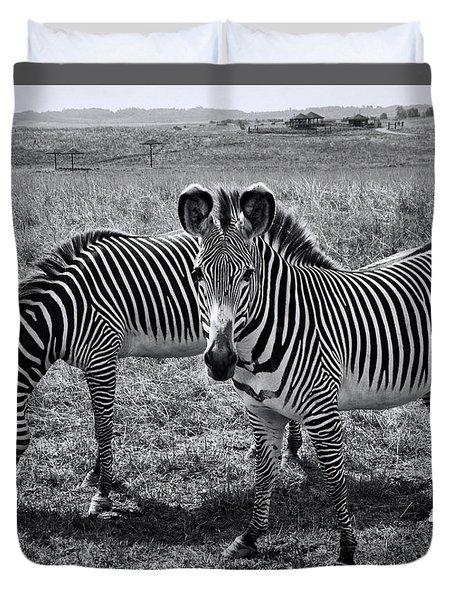 Stripes Duo Duvet Cover
