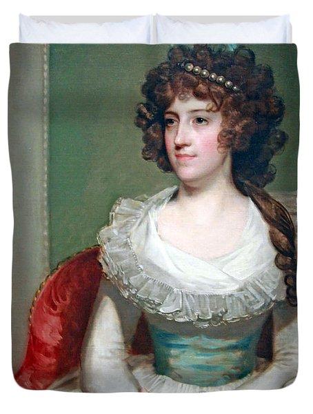 Stuart's Matilda Caroline Cruger Duvet Cover