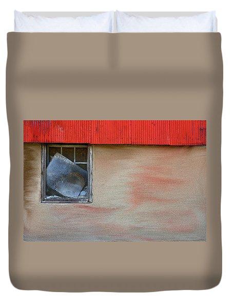 Stucco Flow Duvet Cover by Randy Pollard