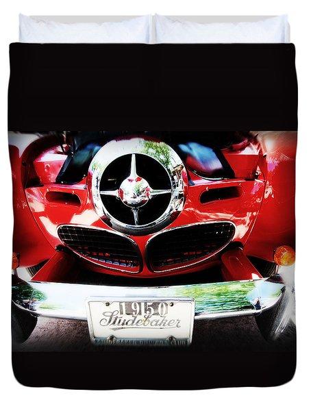 Studebaker Shines Duvet Cover by Toni Hopper