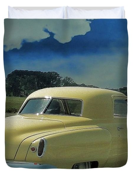 Studebaker Starlight Coupe Duvet Cover by Janette Boyd