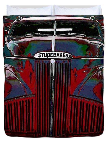Studebaker Truck Duvet Cover