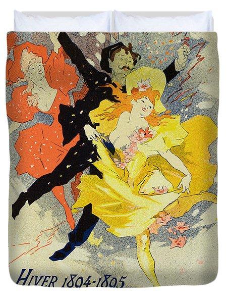 Student Gala Evening Poster Duvet Cover