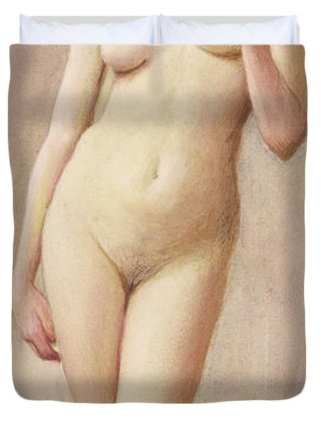 Study Of A Nude II Duvet Cover