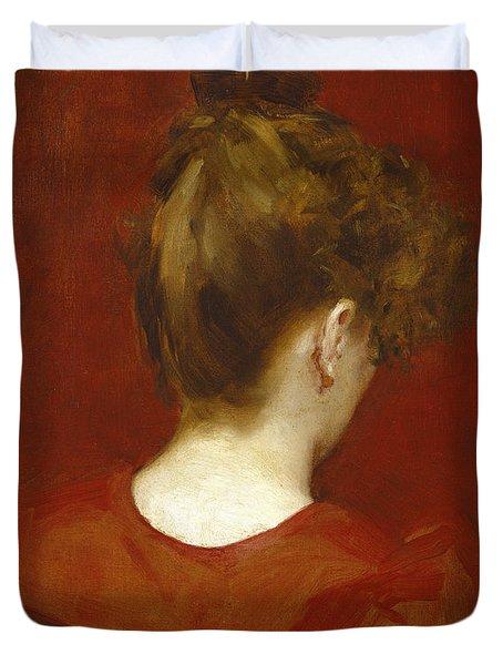 Study Of Lilia Duvet Cover