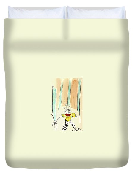 Stumble Duvet Cover