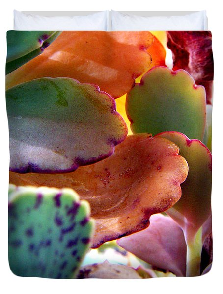 Succulent Jungle Duvet Cover