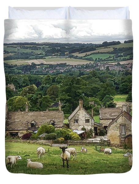Sudeley Hill Farm Duvet Cover