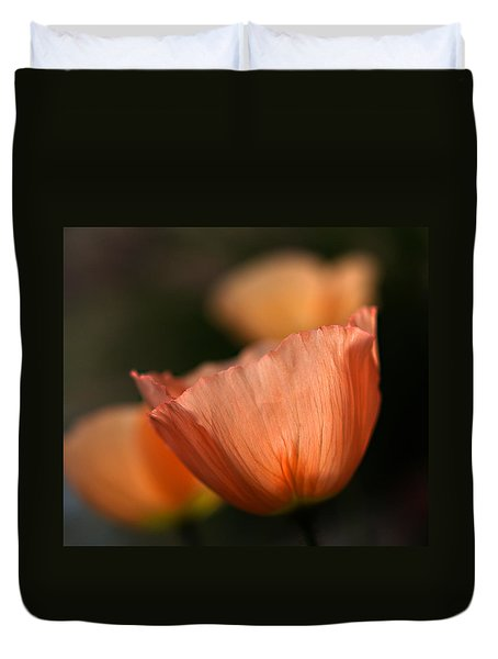Duvet Cover featuring the photograph Suenos De Flores by Joe Schofield