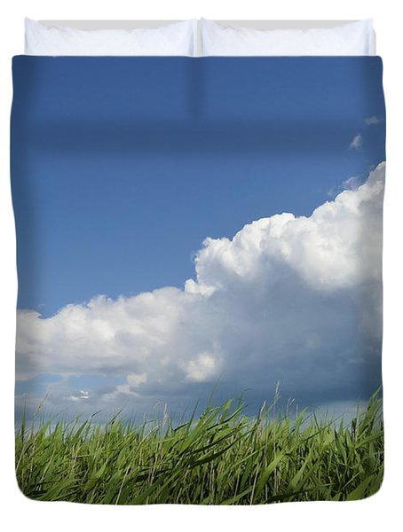 Suffolk Skies Duvet Cover
