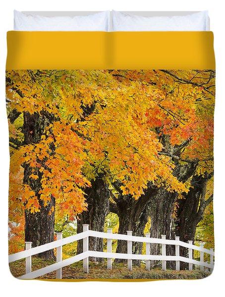 Sugar Maple Color Duvet Cover