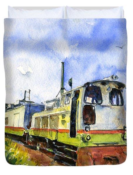 Sugar Train Saint Kitts Duvet Cover