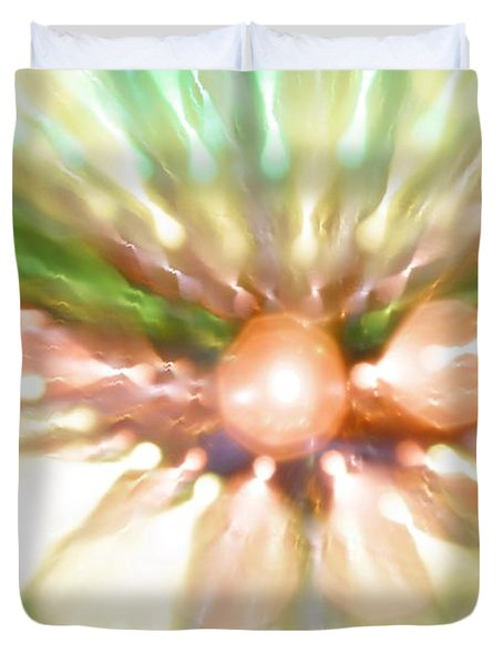 Duvet Cover featuring the photograph Suicide Blonde by Dazzle Zazz