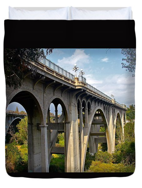 Suicide Bridge Duvet Cover