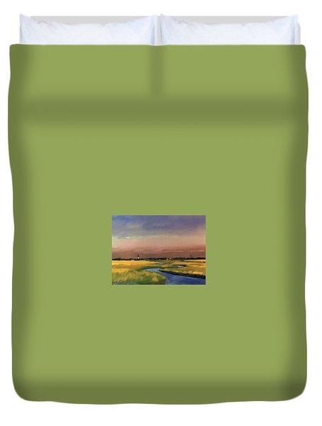 Sullivan's Island Duvet Cover by Blue Sky