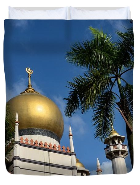 Sultan Masjid Mosque Singapore Duvet Cover