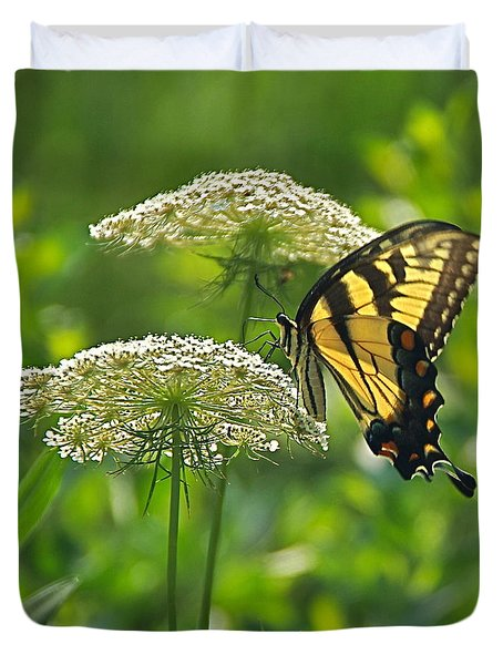 Sultry Summer Day Duvet Cover