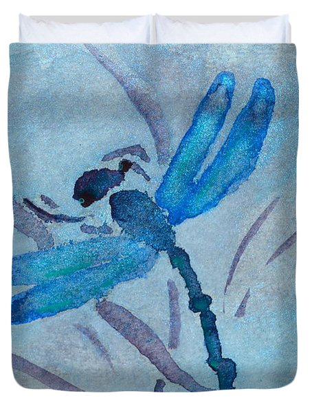 Sumi Dragonfly Duvet Cover