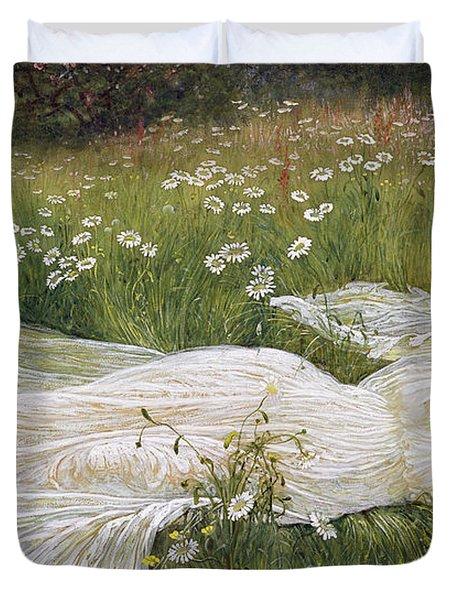Summer, 1895 Duvet Cover