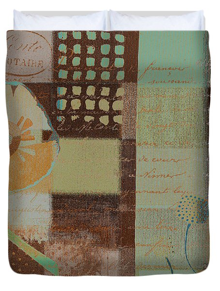 Summer 2014 - J088097112-brown01 Duvet Cover by Variance Collections