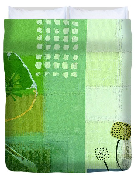 Summer 2014 - J103112106eggr2 Duvet Cover by Variance Collections