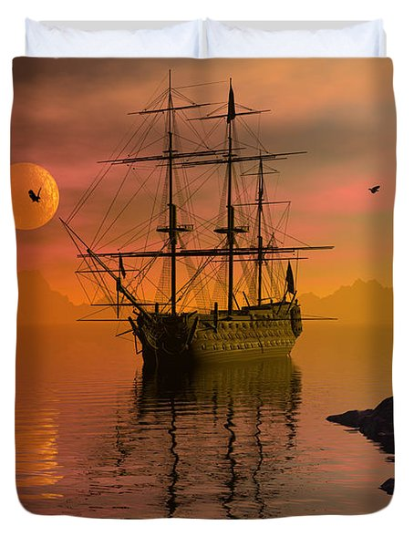 Summer Anchorage Duvet Cover