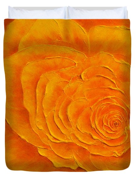 Summer Beauty Duvet Cover by Elena  Constantinescu
