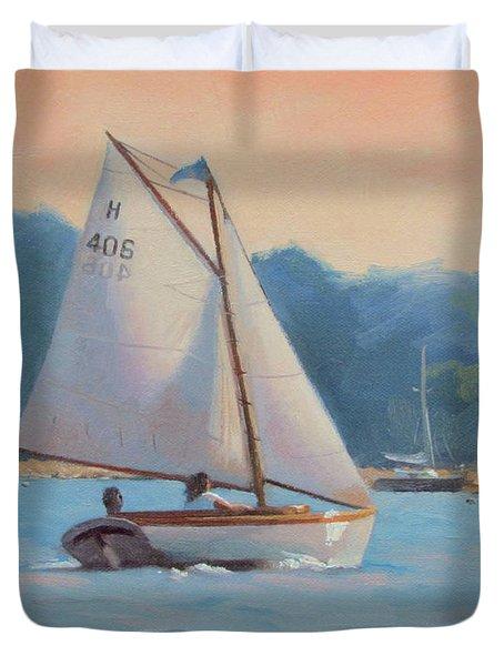 Summer Breeze Duvet Cover by Dianne Panarelli Miller