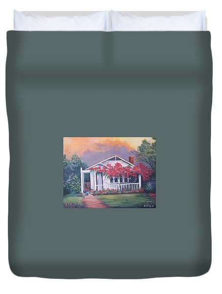 Summer Cottage Duvet Cover