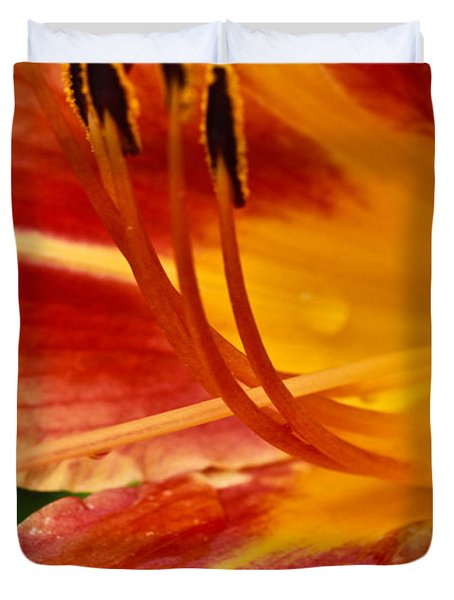 Summer Daylily Duvet Cover