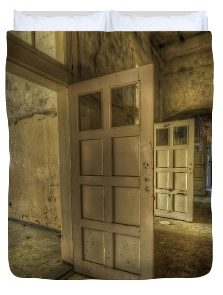 Summer Doors Duvet Cover by Nathan Wright
