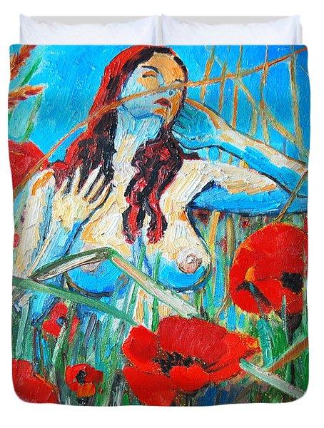 Summer Dream 1 Duvet Cover by Ana Maria Edulescu