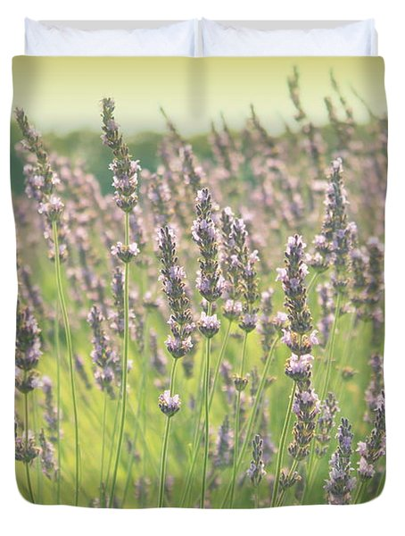 Duvet Cover featuring the photograph Summer Dreams by Lynn Sprowl