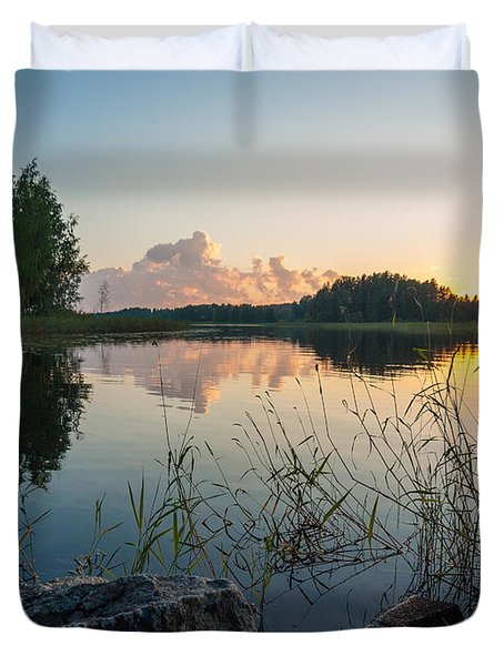 Summer Evening To Remember Duvet Cover