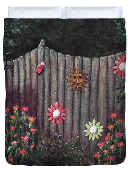 Summer Garden Duvet Cover by Anastasiya Malakhova