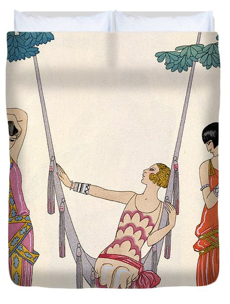 Summer Duvet Cover by Georges Barbier