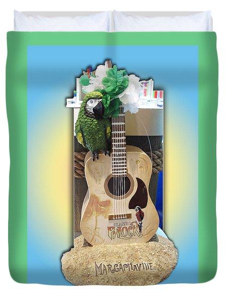 Summer Guitar Duvet Cover