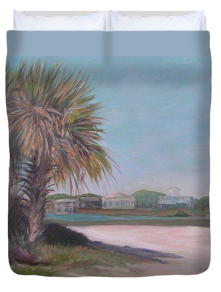 Summer Island Duvet Cover