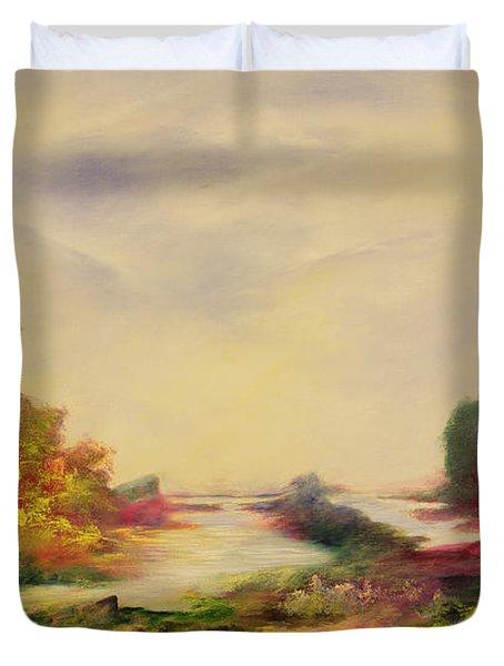 Summer Joy Duvet Cover by Hannibal Mane