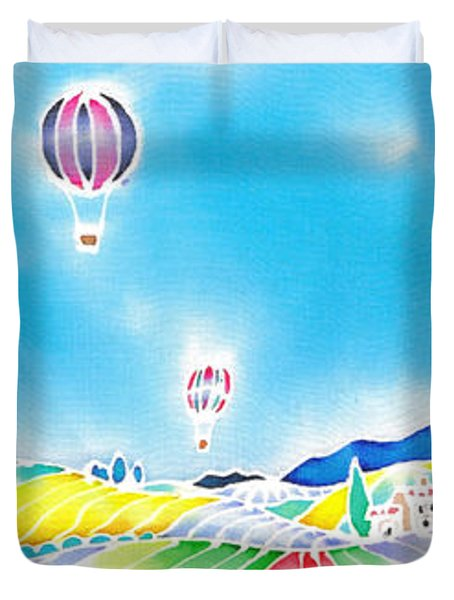 Summer Lights Duvet Cover