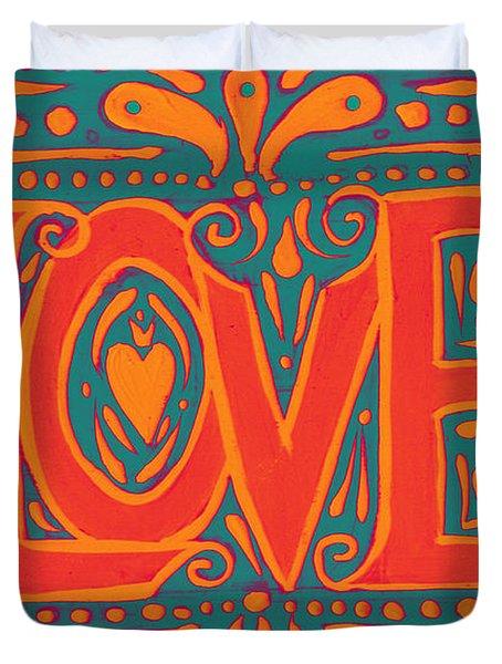 Summer Love  Duvet Cover
