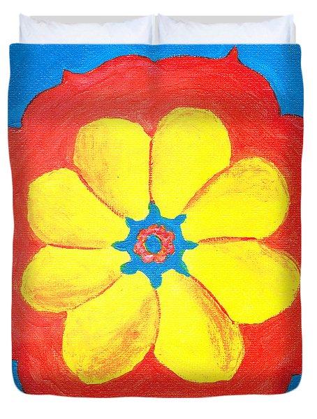 Summer Mandala Duvet Cover