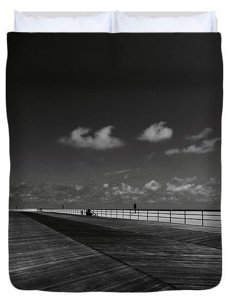 Summer Noir Duvet Cover