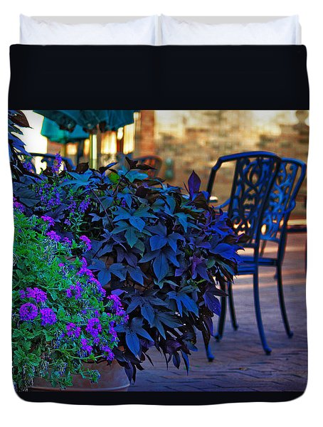 Summer Patio Duvet Cover