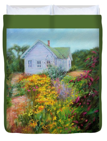 Summer Place- On The Outer Banks Duvet Cover