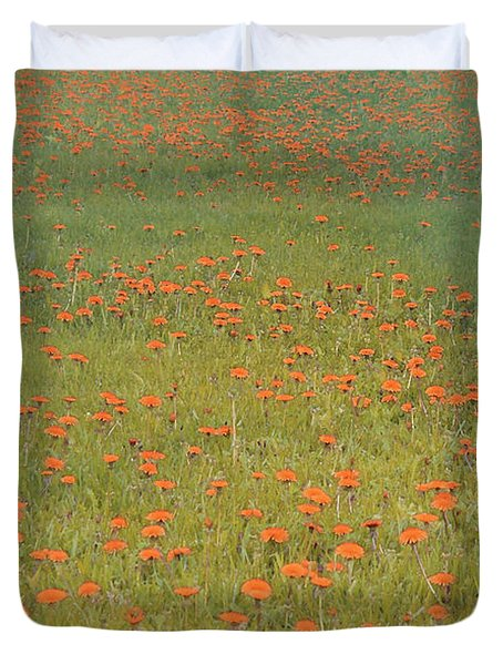 Duvet Cover featuring the photograph Summer Romance by The Art Of Marilyn Ridoutt-Greene
