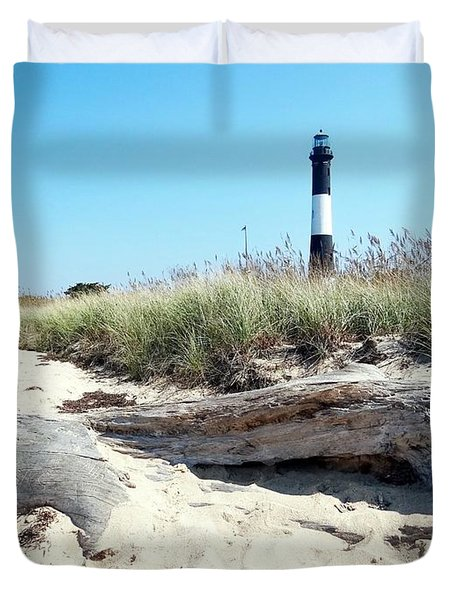 Duvet Cover featuring the photograph Summer Scene by Ed Weidman