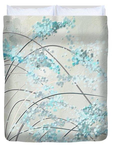 Summer Showers Duvet Cover
