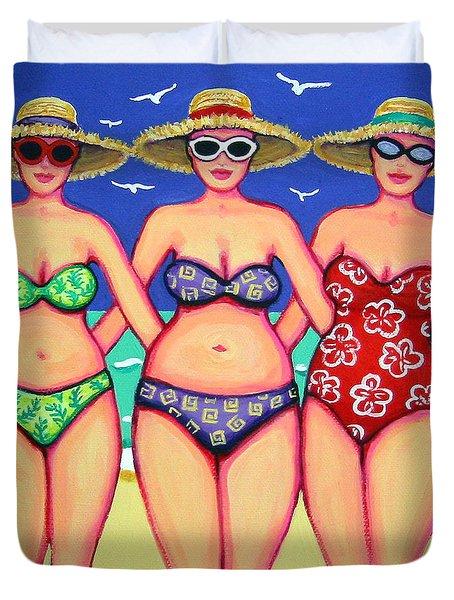 Summer Sisters - Beach Duvet Cover