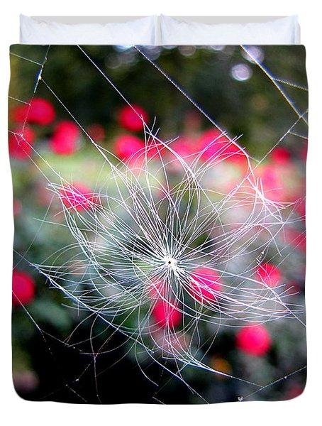 Summer Snowflake Duvet Cover